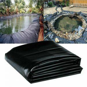 10-33 pies Membrana de estanque de peces Jardín al aire libre Suministros de paisajismo Equipo de revestimiento