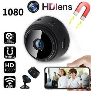 1080P WiFi inalámbrico mini cámara IP magnética CCTV cámara de seguridad espía visión nocturna