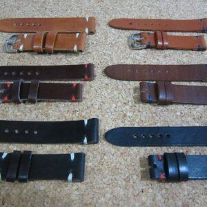 Correa reloj cuero Leather Watch Band Strap 18 - 20 - 22 - 24mm