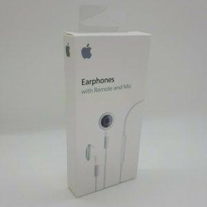 NUEVO - Auriculares Apple con control remoto y micrófono (blanco, PayPal)