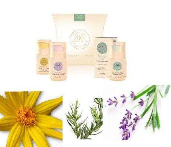Caja de regalo de productos naturales para el cuidado de la piel - Kit de remedio natural
