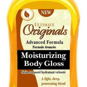 Manteca de cacao y manteca de karité de Ultimate Organics / Productos húmedos para el cuidado de la piel con brillo corporal