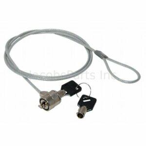 2x cadena de cable de bloqueo de seguridad para PC para portátil