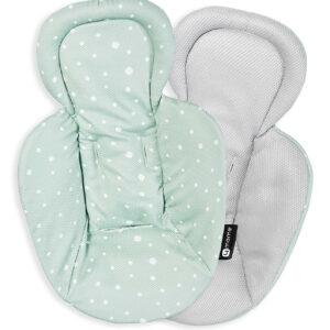 4moms MamaRoo Reversible Newborn Insert - Cool Mesh Verde / Gris