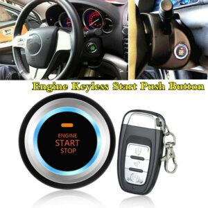 Accesorios del sistema de seguridad de la alarma del coche Botón de arranque sin llave del motor remoto