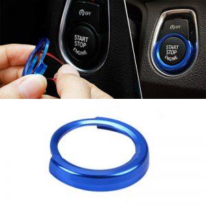 Ajuste de la cubierta del botón de las llaves de inicio del coche para los accesorios de BMW 1/2/3 Serie F20 F21