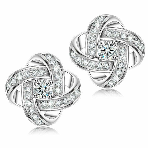 Alex Perry Gifts for Her, Pendientes de plata esterlina para mujer