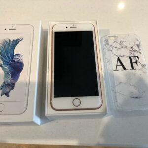 Apple iPhone 6S, excelente estado, teléfono inteligente, oro rosa