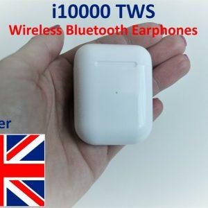 Auriculares Bluetooth inalámbricos blancos en la oreja Auriculares para todos los dispositivos NUEVO