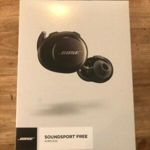 Auriculares Bose SoundSport Free Bluetooth verdaderamente inalámbricos negros con garantía