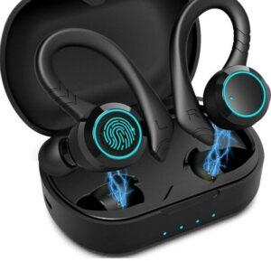 Auriculares inalámbricos Auriculares Aoslen Auriculares deportivos inalámbricos Auriculares Bluetooth