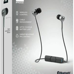 Auriculares y micrófono inalámbricos Bluetooth iFrogz Coda Negro