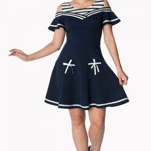 Banned Apparel - Vestido de talla grande Set Sail 2 Fer