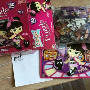 Bratz Babyz Childs Jigsaw Puzzle 150 piezas con pegatinas y póster Edad 6+