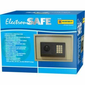 Caja de seguridad de caja de seguridad de efectivo de dinero de acero digital de Ministerio del Interior electrónico del tirador