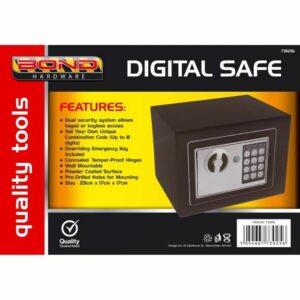 Caja de seguridad electrónica de acero digital Caja de seguridad de Ministerio del Interior Dinero en efectivo Seguridad del armario