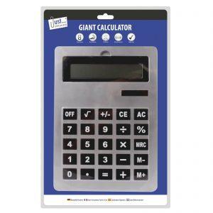 Calculadora gigante A4 Pantalla electrónica Oficina Escuela Escritorio Jumbo Botón grande