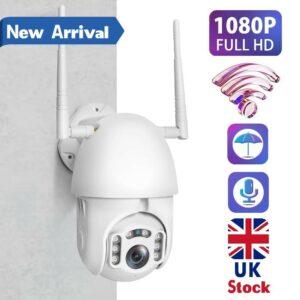 Cámara IP inalámbrica WiFi HD 1080P CCTV para exteriores HD PTZ Smart Home Security IR Cam