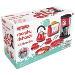 Casdon Little Cook Morphy Richards - Juego completo de electrodomésticos de cocina, réplica, 3 +