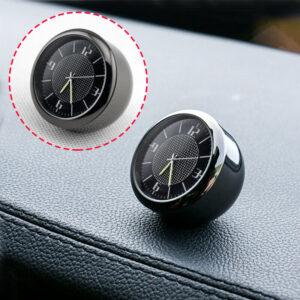 Coche Vehículo Salpicadero Salida de aire Reloj de metal Accesorios interiores Piezas Ajustes