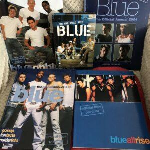 Colección de libros Pop Band Blue All There