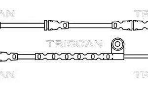 Contacto de aviso de desgaste de pastillas de freno TRISCAN compatible con LAND ROVER SEM500080