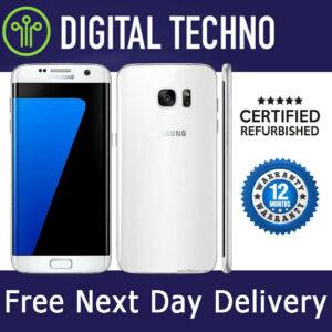 Desbloqueado Samsung Galaxy S7 Blanco 32GB - Teléfono Android sin SIM + 1 año de garantía