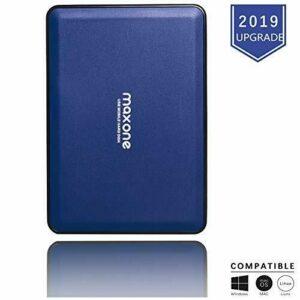 Discos duros externos portátiles de 2.5 '' Almacenamiento de respaldo en disco duro de 160GB-USB 3.0 para PC, PS4