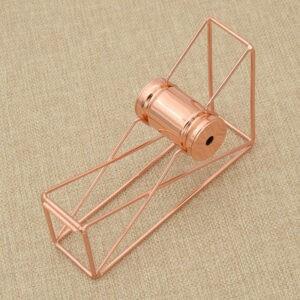 Dispensadores de cortador de cinta Accesorios de metal Material de oficina Color oro rosa 1 pieza