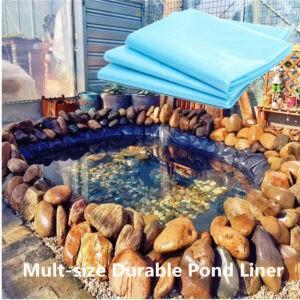Equipo de suministros de jardinería de jardín de membrana de revestimiento de estanque de peces de 13-33 pies al aire libre