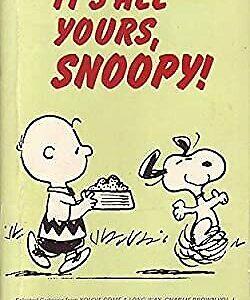 Es todo tuyo, Snoopy (Coronet Books), Schulz, Charles M., usado;  Buen libro