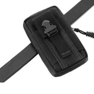 Funda táctica del ejército militar Molle cintura cinturón bolsa cartera funda para teléfono celular