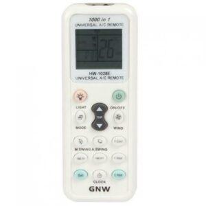 GNW K-1028E 1000 en 1 Control remoto universal de aire acondicionado para acondicionadores de aire Nuevo