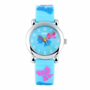 GRyiyi Kid's Outdoor Carton Reloj de pulsera impermeable Time Teacher para niños 3D