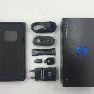 Genuine Samsung Galaxy S9 / S8 Plus Note 8/9 EU Caja vacía con / sin accesorios