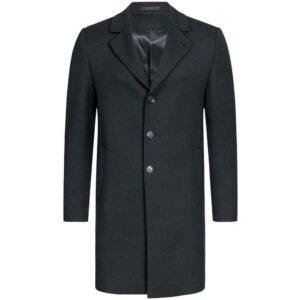 Greiff Corporate Wear Outdoor Herren Mantel Regular Fit Schwarz