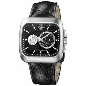 Gucci YA131306 G-Coupe Reloj de cuarzo negro para hombre