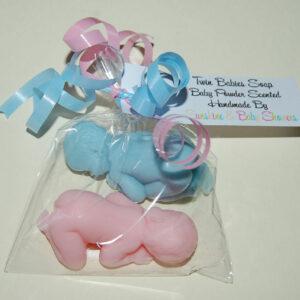 Hermoso TWIN BABIES Jabón Baby Shower Regalo Premio Favor Niño Niña Neutro