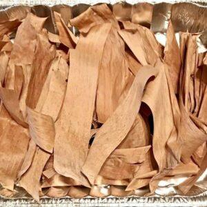 Hojas de plátano secas Suministros para mascotas Cuidado de peces, acuarios 150 piezas.
