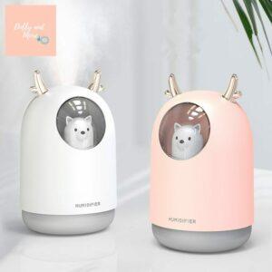 Humidificador mascotas kawaii Electrodomésticos Humidificador USB 300ml Cute Pet