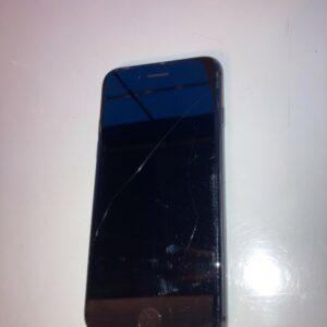 I Phone 8 64 gb EE (en caja) en perfecto estado de funcionamiento, anverso y reverso dañados