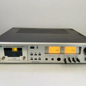 ITT 8022 Cubierta de casete electrónica Hifi Vintage
