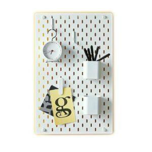 Ikea SKADIS Tablero de clavijas y accesorios Cocina Organizador de oficina