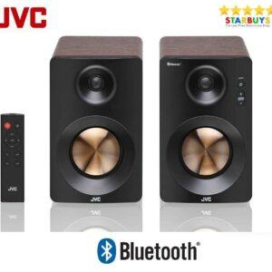 JVC XS-D629BM 60W 2.0 Bluetooth y USB Altavoces de estantería activos PC Computadora portátil TV