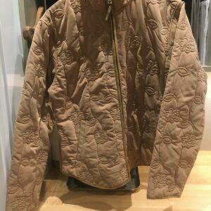 Jack Murphy Camel Outdoor Wear Chaqueta con cierre de cremallera Talla 14