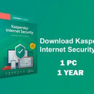 Kaspersky Internet Security 2020 para 1 PC / dispositivos 1 año de clave de descarga UE
