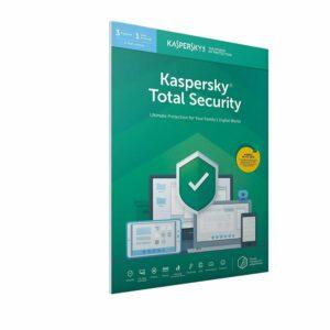 Kaspersky Total Security 2020 para 3, 5 o 10 PC / dispositivos 1 año de clave de descarga UE