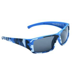 Kid's EyeLevel Sunglasses - Camo Fashion Sunglasses - Blue or Light Blue Frame