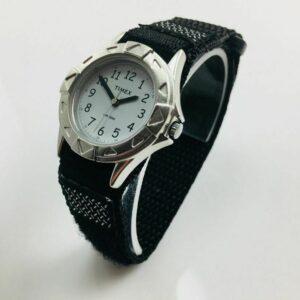 Kid's Timex My First Outdoors Reloj de correa de nailon negro T79051