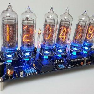 Kit de reloj Nixie para tubos Nixie IN-14.  Calidad de la electrónica fotovoltaica